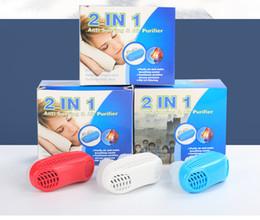Neue 2 IN 1 Anti Schnarchen Luftreiniger Tragbare Gesundheit Nase  Atemschutzgerät Für Luftreinigung Geeignet, Schnarchen Zu Lindern  Pressluftatmer ...