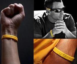 2019 kinder armbänder schwarz rot 2 teile / los LIVE STARK Silikon Sport Armband Motivation ermutigen patient Männer Frauen Erwachsene Kind drängen Macht Armbänder armband