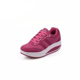 fa05b6f76f83 females sneakers 2019 - Toning shoes WomenFitness Weight Loss Massage Shoes  Female Negative Toning Shoes Sneakers