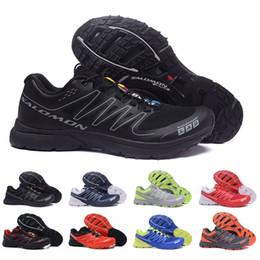 Descuento para hombre zapatillas de senderismo online-2018 Salomon S-Lab Sense M zapatillas de deporte con descuento La mejor calidad de los zapatos para hombre Venta caliente Moda Atlético Deportes corrientes Zapatos de senderismo