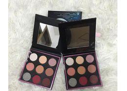 Hot New Manny Mua Eyeshadow Makeup Geek X Eye Shadow Cosmetics Kit 9 Colors Free Shipping