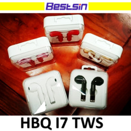 Wholesale Earbuds Retail Box - HBQ i7 TWS Twins Wireless Earbuds Mini Bluetooth V4.2 Stereo Headset earphone For Iphone x Samsung S8 with Retail Box Free DHL