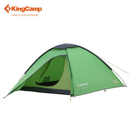 Wholesale Dome Camping - KingCamp 3-Person 3-Season Outdoor Portable Lightweight Instant Dome Pop Up Tent with Carry Bag for Camping Backpacking