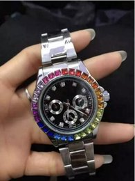 Wholesale Show Women - Luxury decoration 3 small diamonds relogio masculino women simulation sports watch show the date of the quartz business women men's watch