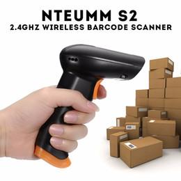 2019 definição do cartão usb NTEUMM S2 2.4 GHz Scanner de código de Barras sem fio Wifi Sem Fio 120 Varreduras / S Loja 5000 códigos de Barras com 2000mAh Li Bateria + Cabo USB Para Loja Loja