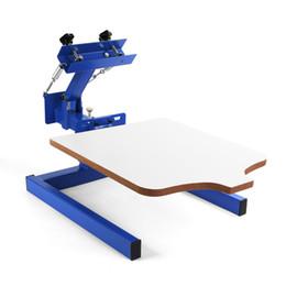 Coupe manuelle en bois d'impression en carrousel de machine d'impression d'écran en soie de 1 couleur ? partir de fabricateur
