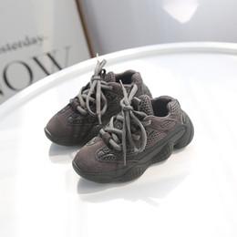 2019 führte kühle net lichter Kinder Designerschuhe schnüren sich Latex Sneaker Schuhe für Kinder schwarze Mädchen Säuglingsbabyschuhe