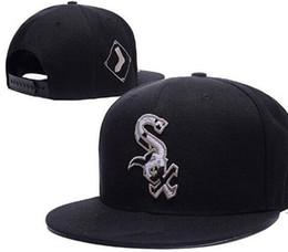 Deutschland Neue Marke designing White Sox Hüte Männer Frauen Baseball Caps Snapback CurvedFlache Krempe Solid Baumwolle Knochen Europäischen American Styles Fashion Hut Versorgung