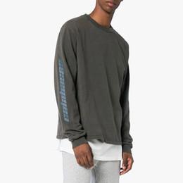 New Style Kanye West Crew Neck Sweatshirt Men Women Calabasas Oversized  Cotton Hoodie Sweater Hip Hop Streetwear Club Tees ZYH1004 a0160f2b2