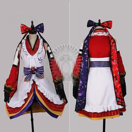 Wholesale Custom Ninja Costume - Japanese Hot Anime Love Live NINJA Sonoda Umi Cosplay Costume Awakening Dress Custom Made Woman Man Clothing