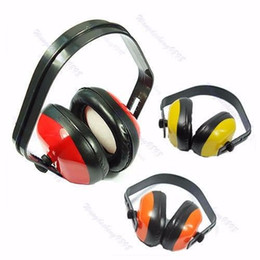 Wholesale Novelty Ear Muffs - Adjustable Headstrap Earmuffs Headset Ear Muff Muffler Noise Hearing Protector Hot
