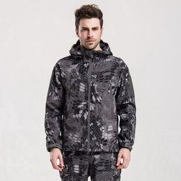 Canada TAD tactique vitesse requin peau Soft Shell camouflage veste extérieure sport veste imperméable chasse vêtements veste militaire pantalon Offre