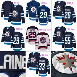 Wholesale Orange S - Winnipeg Jets 2016 Heritage Classic 29 Patrik Laine Jersey Mens 26 Blake Wheeler 33 Dustin Byfuglien 55 Mark Scheifele Hodkey Jerseys
