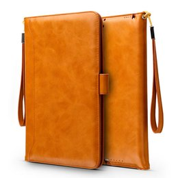 luxury cases for ipad Coupons - Free shipping for Mini Pad Pro 9.7 10.5 air Luxury Leather Flip case cover with bracket Card holder flip cases PCC064