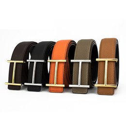 Wholesale Belt Woman H - H Designer Luxury Brand Belts for Mens Genuine Leather Male Women Casual Jeans Vintage Fashion High Quality Strap Waistband