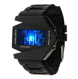 Colorido led silicone casal tabela de avião relógio eletrônico estudante de plástico relógio esportivo Moda Estilo Mais Recente Relógio de Alta Qualidade de