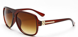 Wholesale Vintage Shadow - 5 Color Brand Designer Women Retro Flat Top Sunglasses Vintage Acetate Shaded Lens Thin Shadow Glasses 9012