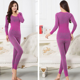 cf29740e6a New Arrival Winter Women Seamless Warm Long Johns Fashion Sexy Women s  Thermal Underwear Slimming Body Shaped Underwear Sets