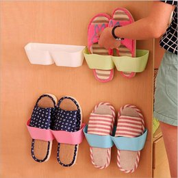 Wholesale Hanger Products - Simple shoes wall hangers Living room bath men women child shoes hanger saveing room great product 5 colors can choose