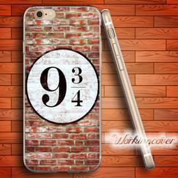 Canada Coque Harry Potter Platform Coque en TPU Clear pour iPhone X 8 6 6S 7 Plus 5S Coque SE 5 4C 4S pour iPod Touch 6 5 Coque. Offre