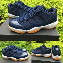 Wholesale gold advance - classic 11 varsity red low bred white gum navy blue infrared 23 georgetown concord XI Advanced Quality Version sizes US5.5-13