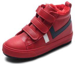 Neue Kinder Mädchen Stiefel Leder Prinzessin Martin Stiefel Mode Elegant Casual Kind Schuh Für Jungen Baby Stiefel Schuhe von Fabrikanten