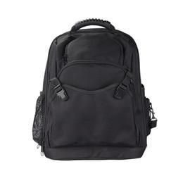 Wholesale Electrical Storage - 1200D Oxford Cloth Backpack Tool Bag Handbag Tool Storage Bags Multifunction Electrical Bags Load Bearing 10KG