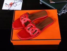 pelle di maiale Sconti Moda donna di marca in pelle di mucca open toe pantofole sandali casual, estate H designer appartamenti maiale naso mocassini scarpe pumps, 36-40