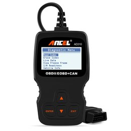 Wholesale Universal Car Diagnostic Tool - AD310 Classic Enhanced Universal OBD II Scanner Car Engine Fault Code Reader CAN Diagnostic Scan Tool Z