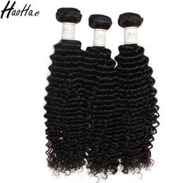 Wholesale Discount Virgin Hair - Human Hair Kinky Curly Weaves Virgin Hair Bundles No Chemical Unprocessed Hair Extensions Haohao Discount Sales