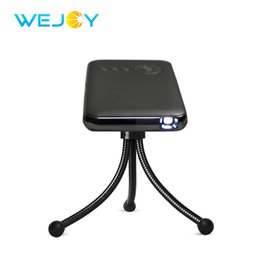 Wholesale Mobile Wifi Portable - Wejoy Mini Projector DL-S6+ 16G Android DLP Pico Pocket Mobile Phone Projector Wifi BT TF LED Portable Theater Video Projecteur