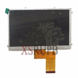Wholesale 7inch Lcd Display - NEW 7inch 50pin kr070pe7t FPC3-WV70021AV0 LCD Screen Display for Freelander pd10 pd20 Tablet PC