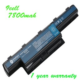 Wholesale v3 acer - 9 cell 7800mah laptop battery AS10D61 AS10D3E AS10D75 for Acer Aspire V3 4733 5251 5252 5253 4738 5750 4739 5336 5333 5342 5755 5749