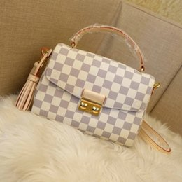 Wholesale White Envelopes Letter - bags for sale 2018 hot classic handbag designer style real Leather womens bags white Lady bags letter decoration Female Totes