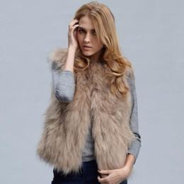 femmes manteau de fourrure imitation glissière marron épais manteau de fourrure chaude pour les femmes dame longue veste gilet gilet ? partir de fabricateur