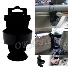 Wholesale universal holder tool - 1Pc New Universal Vehicle Car Truck Door Mount Drink Bottle Cup Holder Stand Tools Novel Car drink holder