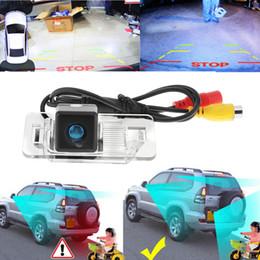 Bmw camara de vision nocturna online-Cámara de marcha atrás impermeable del estacionamiento de la cámara de la vista posterior del coche de la visión nocturna para BMW E39 E46s 170 grados Vea el ángel E39 E46s CAL_044