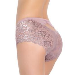 9ad36ed3e 2018 fashion style women brief Sexy Women Ladies Lace Boy Shorts Boxer Knickers  Underwear Short Pants Size M-XXXL