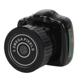 llaveros grabadores de video Rebajas Y2000 Mini cámara más pequeña cámara de bolsillo Mini DV grabadora Micro DVR cámara de vídeo cámara web portátil con llavero