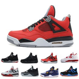 Wholesale games money - Hot 4 4s Men Basketball Shoes Eminem Thinker Alternate Motorsports Blue Game Royal Fire Red White Cement Pure Money Sports Sneakers trainers