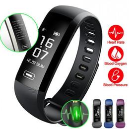 M2 Pro Pulsera Inteligente Rastreador de ejercicios Pulseras Presión Arterial Frecuencia Cardíaca Reloj Medidor de Pulso Oxígeno Impermeable SMS Llamada Sport Band gratis DHL desde fabricantes