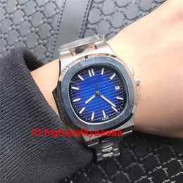 Wholesale Men Classic Square Watches - 2018 top luxury brand rose gold parrot classic men's watch Swiss 57111R Automatic sport Stainless steel men watches male wristwatches 2813