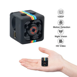 Wholesale Night Cameras - Mini Camera HD 1080P Portable Small Camera Support Motion Detection   Night Vision for Home Surveillance Nanny Camera With Package