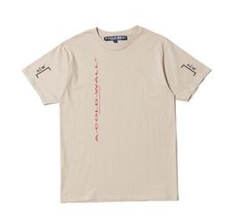 Argentina ACW * FABRICS DE PLÁSTICO flecha ascendente letras rojas que representan una manga corta de algodón viejo Suministro