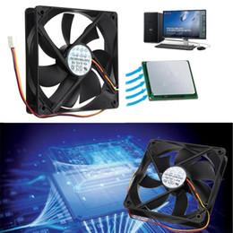 2019 вентилятор радиатора для пк 1pcs 120mmx120mmx25mm 3 Pin PWM Cooler Fan Heatsink Cooling Radiator 7 Fans CPU Cooling Fan Double 12V PC Computer Case дешево вентилятор радиатора для пк