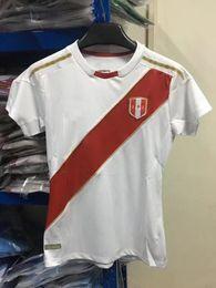Wholesale Thailand Soccer Jerseys Free Shipping - In stock Top Thailand quality 2018 peru soccer jerseys Home Peru Women 2018 football soccer Peru Women jersey Free shipping