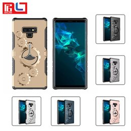 Iphone x 8 7 plus için bestsin samsung cep telefonu case dişli braketi ile kol bandı kapak case katı anti-güz nereden vites kutuları tedarikçiler