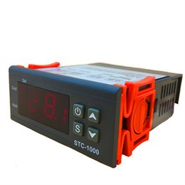 Argentina STC-1000 A-400P versión Controlador de temperatura digital Controlador de temperatura LED digital 220 V Sensor de termostato 2 Salida de relé Suministro