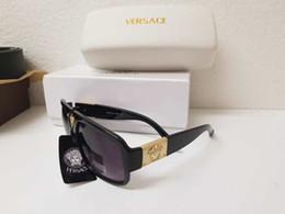 Wholesale white square box - with box 2018 awesome quality sunglasses women brand designer sun glasses female fashion luxury decoration classic eyewear logo