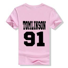 Louis Tomlinson 91 t Shirt Tumblr One Direction Shirts Women Summer fashion  Fans T-Shirt Cotton Casual Tee Tops Ladies T-F10316 22f880719c0b